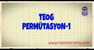 TEOG Permütasyon-1