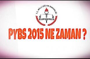 PYBS 2015 Ne Zaman