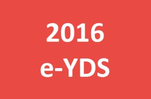 2016 e-YDS Sınav Tarihleri Belli Oldu