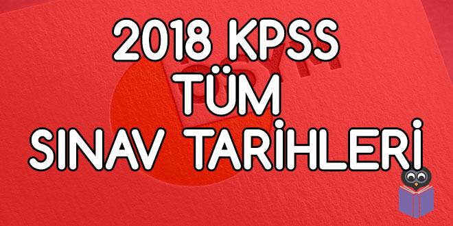 2018-KPSS-Tüm-Sınav-Tarihleri